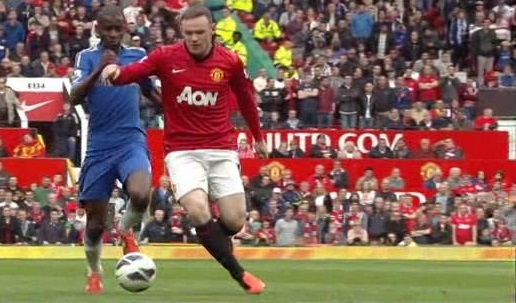 Rooney, Manchester United - Chelsea