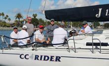J/120 CC Riders- sailing by Chuck Nichols with Commodore of San Diego YC