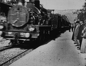 Arrivée d'un train en gare de la Ciotat - Film dei Fratelli Lumière