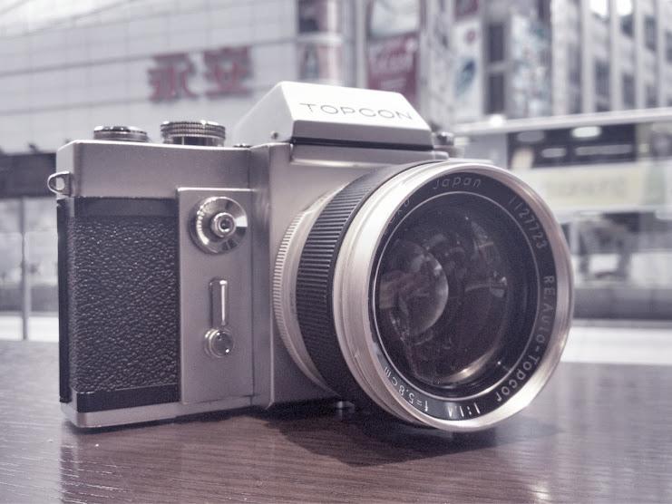 topcon re super + topcor 58mm f1.4 真鳳凰瞳手入