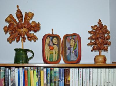 Kugel- und Kolbenblüte mit 'Paradiesapfel'