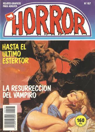Horror [107] (1989) [C�mic][Espa�ol]
