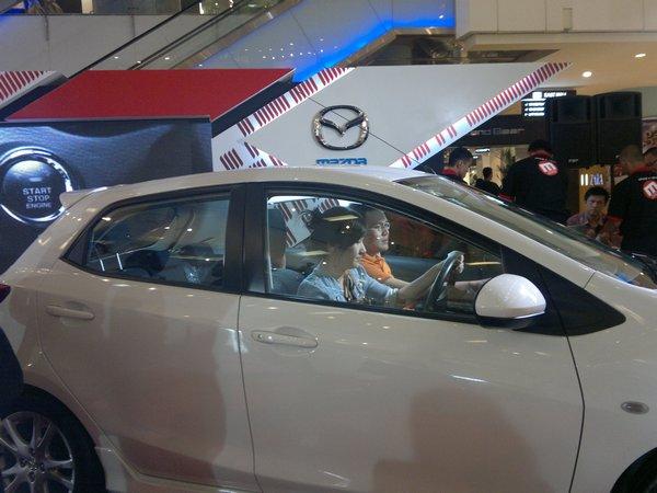 Test Drive Mazda