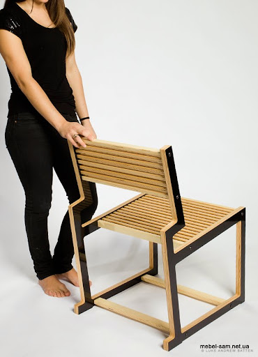 Общий вид фанерного стула