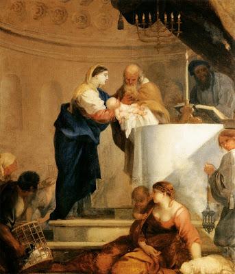 Sébastien Bourdon - Presentation in the Temple - c. 1644