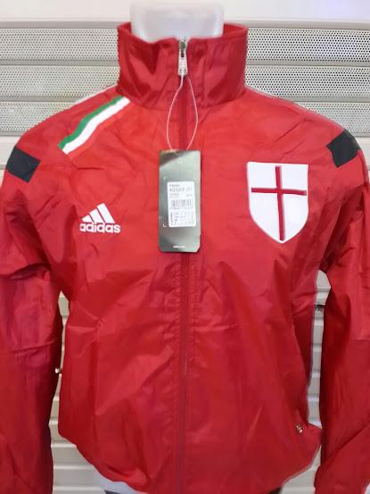 Jual Jaket Parasut AC Milan Merah 2015-2015
