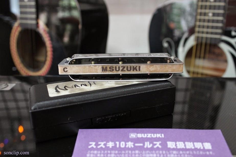 Kèn Harmonica - Suzuki Manji M-20 (key C)