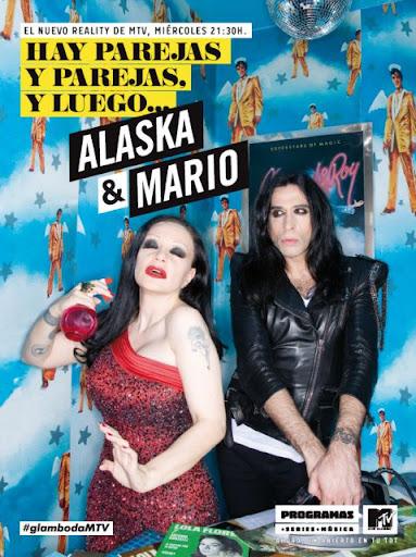 Alaska y Mario Vaquerizo en el reality que protagonizan en la MTV