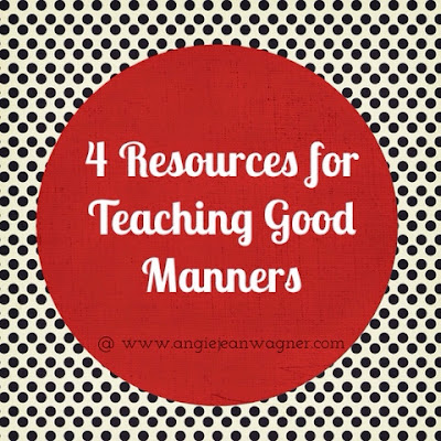 Title Image, 4 resources for teaching kids good manners