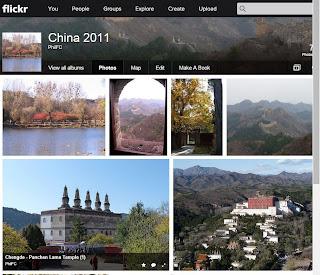 Flickr photo sharing website