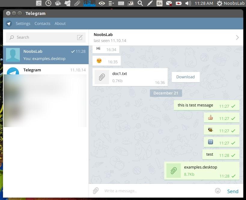 Telegram Official Desktop Client Is Now Available For Ubuntu/Linux
