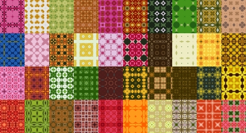 Free Seamless Patterns Set 11