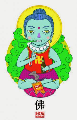 Angry At The Buddha
