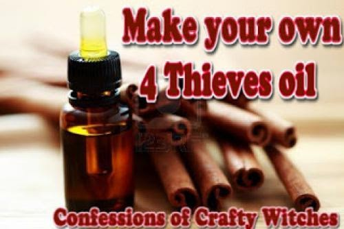 Make Your Own 4 Thieves Oil