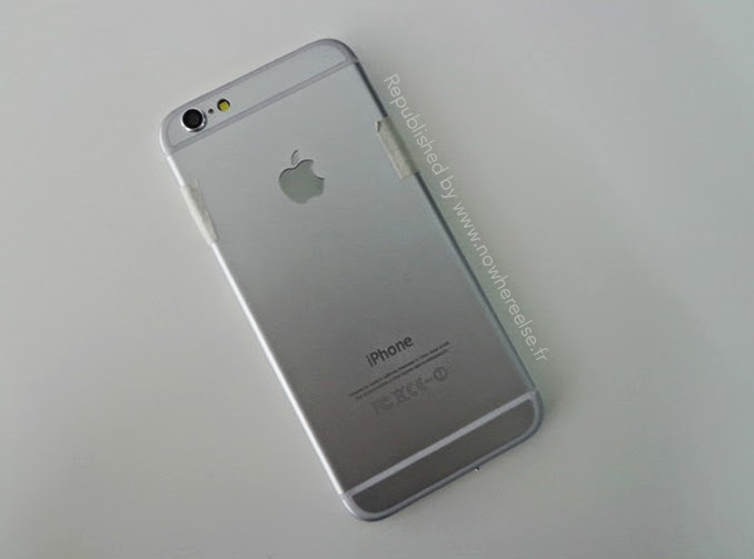 iPhone 6 apple logo