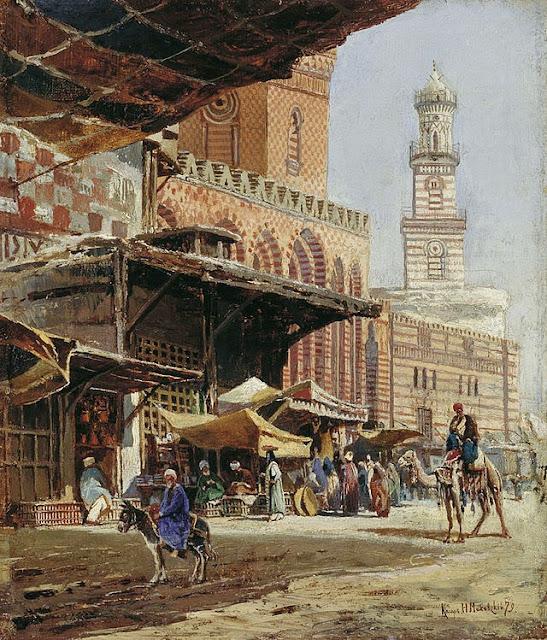Nikolay Makovsky - Cairo