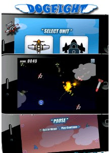 Dogfight Iphone Game walkthrough.