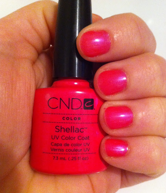 Tutti Frutti Nails: How To Shellac Your Nails