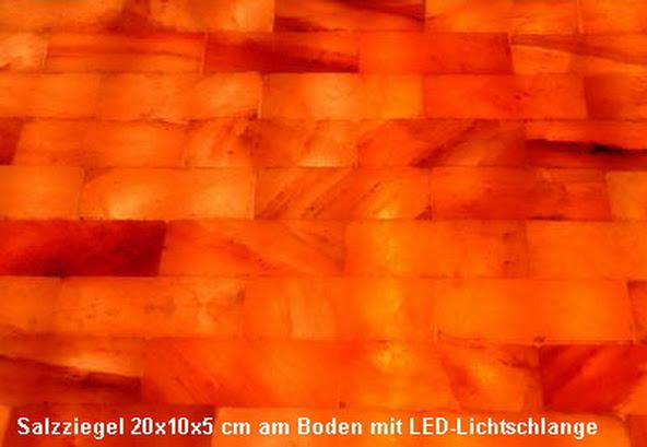 20x himalayasalz salzziegel salzfliese wellness feng shui 20x10x2 5cm sauna ebay - Salzkristall fliesen ...