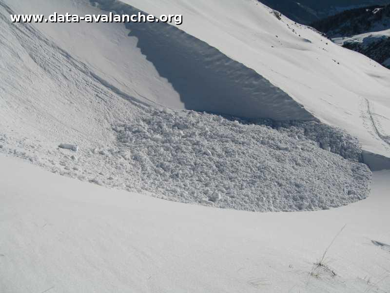 Avalanche Haute Tarentaise, secteur Pointe du Col - Photo 1