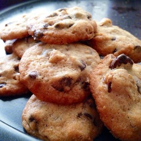 Choc chip & Walnut Cookies