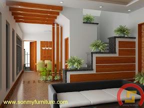 Mẫu thiết kế nội thất  căn hộ 715