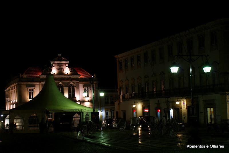 Évora, Praça do Giraldo à noite