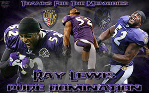 Ray Lewis Tribute Wallpaper