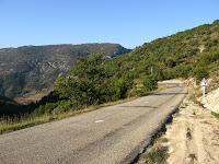 Route versant Sud