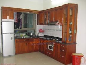 Tủ bếp gỗ BESM0110