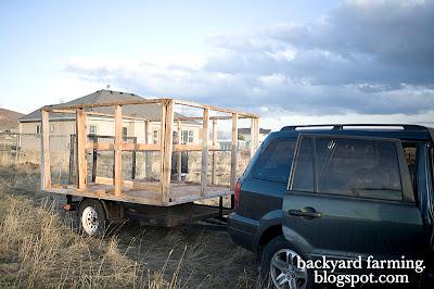 Moving a backyard shed kits
