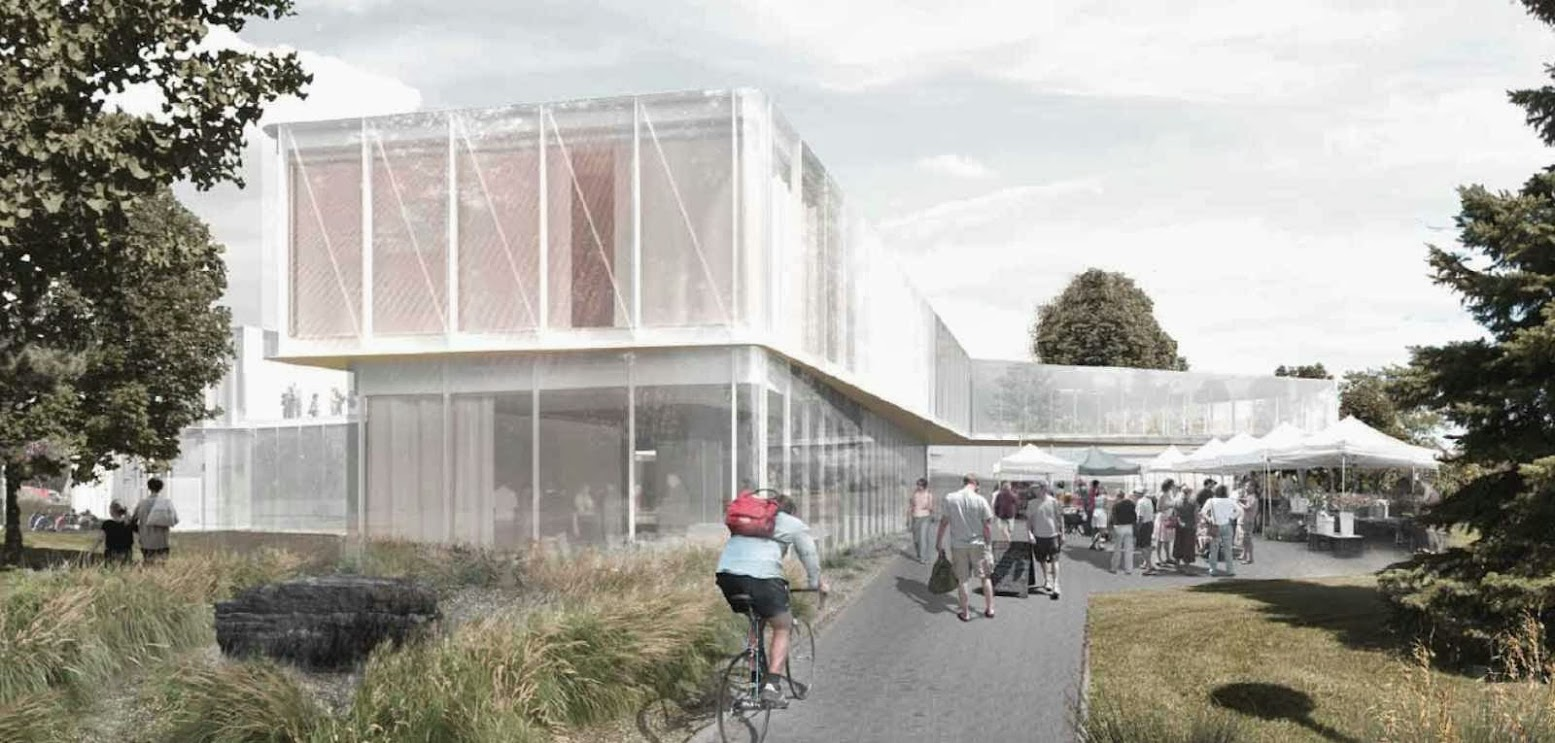 Pierrefonds-Roxboro, Montréal, Québec, Canada: [CHEVALIER MORALES ARCHITECTES WINS PIERREFONDS LIBRARY COMPETITION]