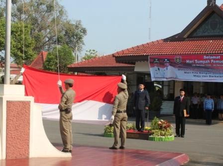 berita terkait upacara hari sumpah pemuda yang ke 86 di ngawi jawa timur