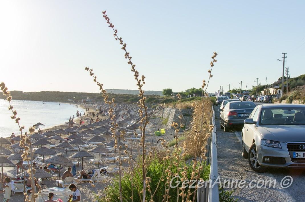 Bozcaada, Ayazma plajı