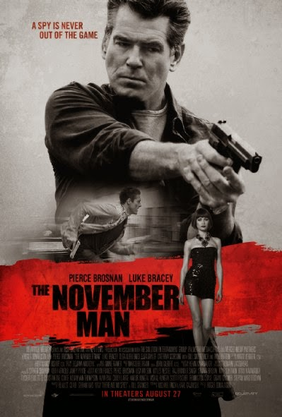 Poster Of English Movie The November Man (2014) Free Download Full New Hollywood Movie Watch Online At Alldownloads4u.Com