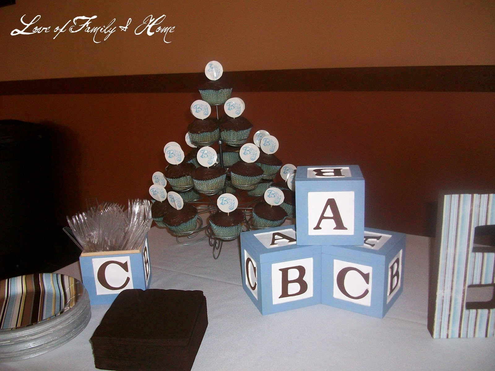 A Very Special Baby Shower Love of Family & Home