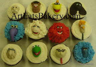 Muppets custom unique kid's cupcake designs