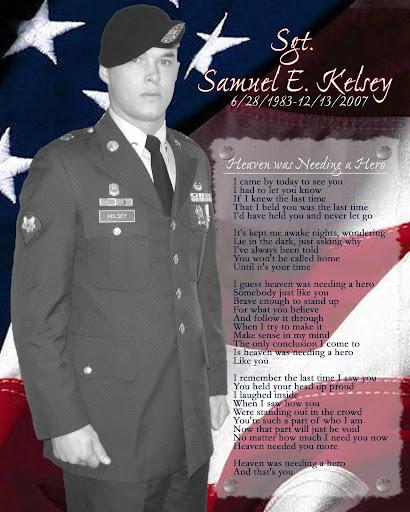 Sgt Samuel E Kelsey