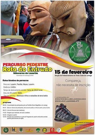 Programa - Rota do Entrudo - Lamego - 2015