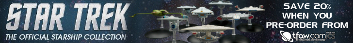 Find Star Trek starships on TFAW.com!