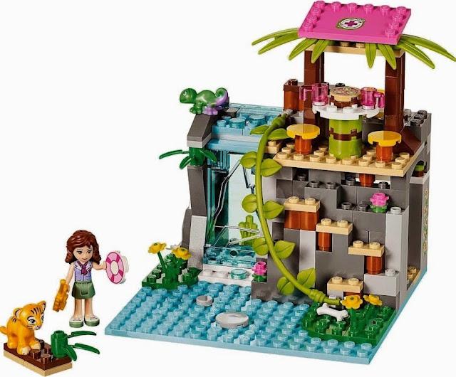 Sinh động đẹp mắt của bộ đồ chơi xếp hình Lego Friends 41033 Cứu Hộ Tại Thác Nước