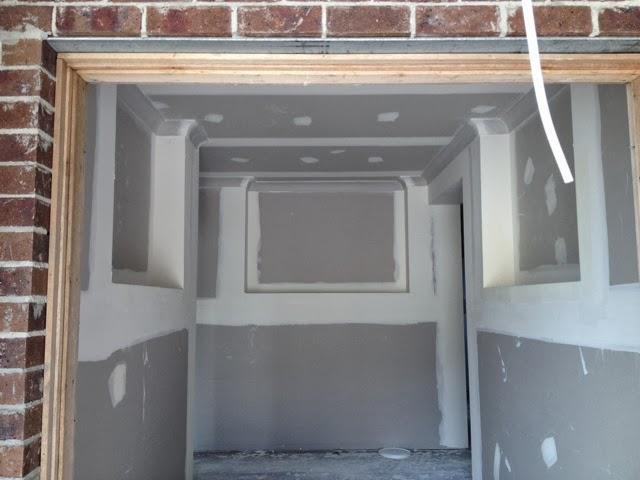 90mm cornice hallway niche