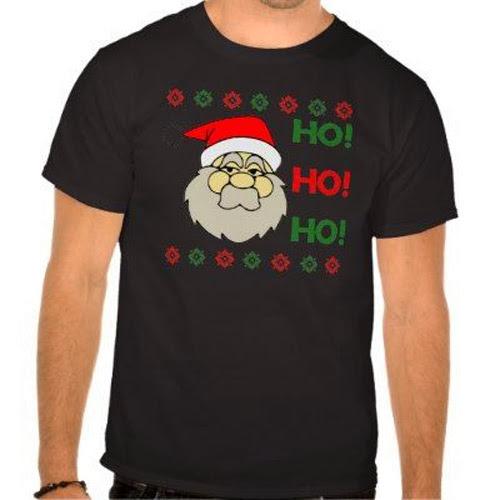 Inspiração: papai noel - camiseta ho ho ho