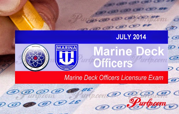 July 2014 Marine Deck Officers Full Results List