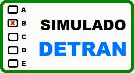 o simulado do detran pe 2012