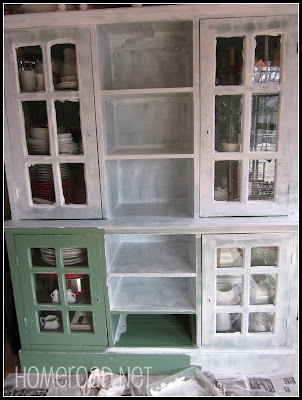 Painting a Large Hutch