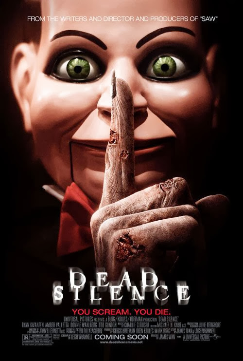 Poster Of Dead Silence (2007) Full Movie Hindi Dubbed Free Download Watch Online At Alldownloads4u.Com