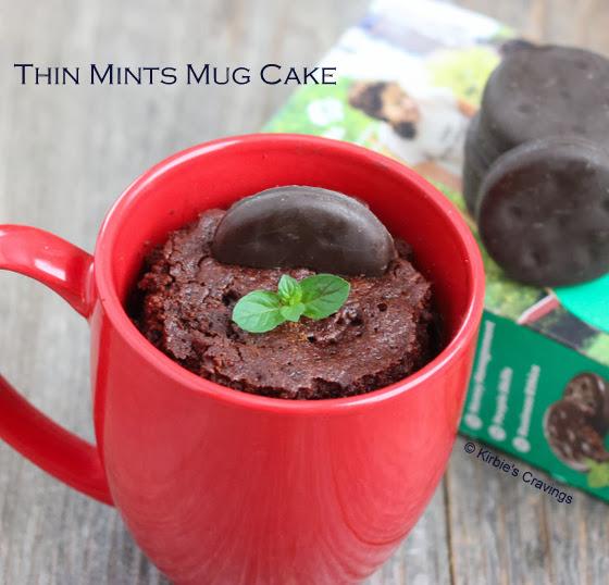 photo of Thin Mints Mug Cake