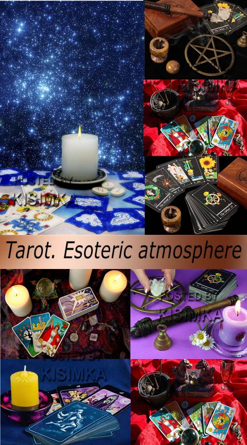 Stock Photo: Tarot. Esoteric atmosphere
