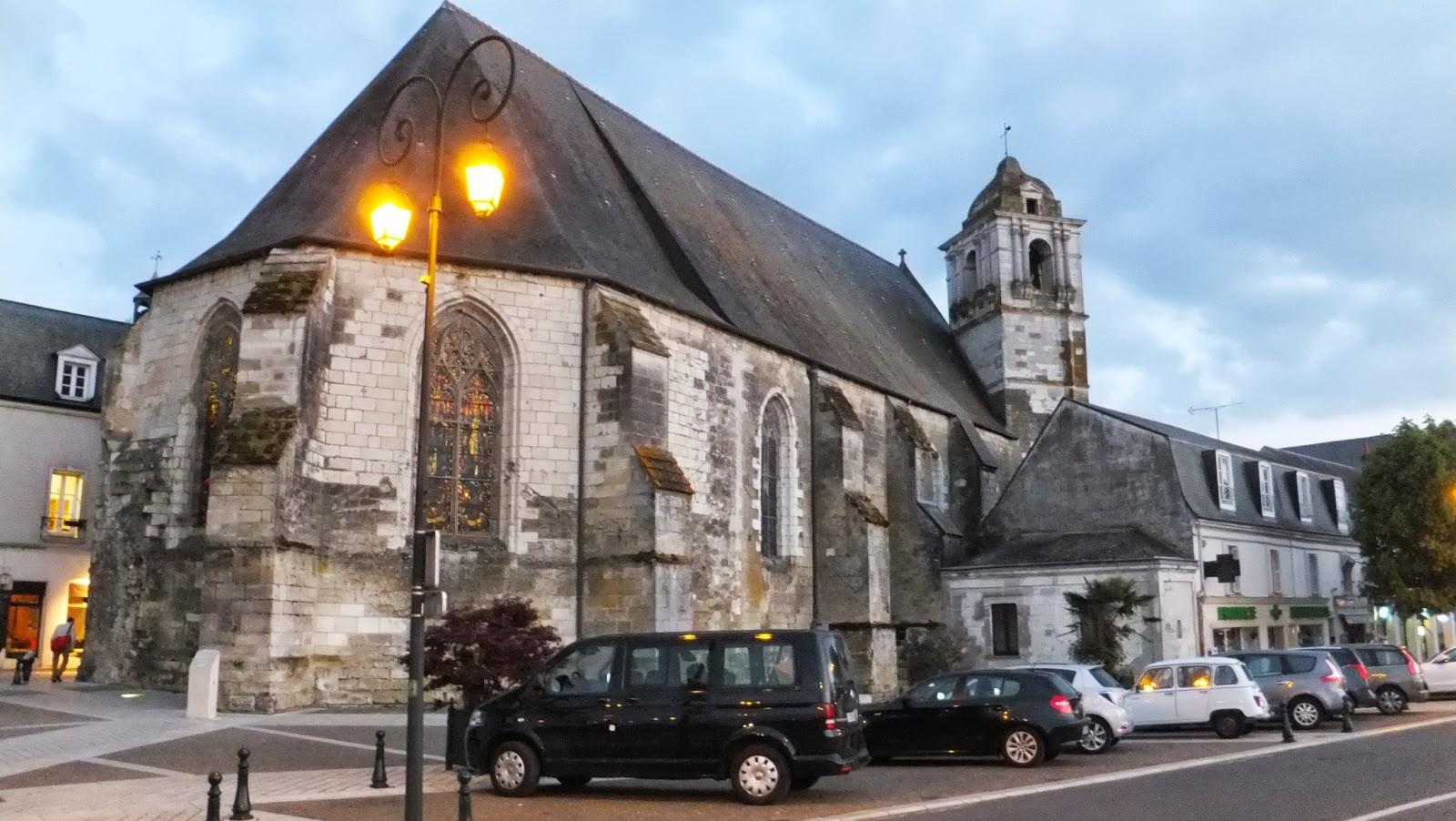Atardecer en Amboise